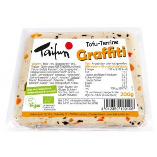 Tofu-Terrine ´Graffiti´