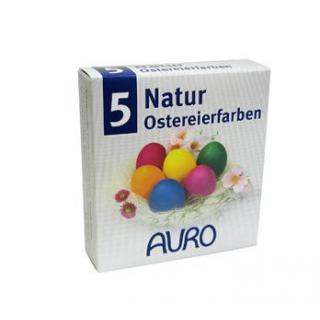 Natur-Ostereierfarben