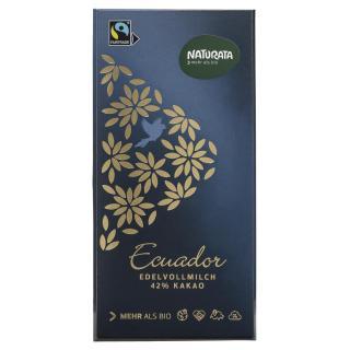 Edelvollmilch Ecuador 42%, MHD 14.10.2018