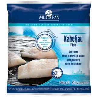 Kabeljau-Filets natur