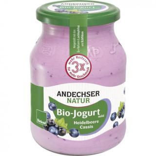 Joghurt Heidelbeere-Cassis 3,7%