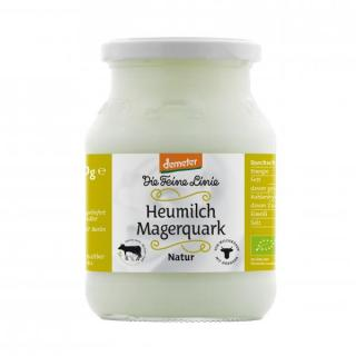 Heumilch Magerquark im Glas